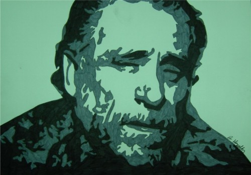 amandaonwriting:  Happy Birthday, Charles Bukowski, born 16 August 1920, died 9 March 1994. Bukowski was a poet, novelist and short story writer. My Top 10 Bukowski Quotes 1. Some people never go crazy. What truly horrible lives they must lead.2. Sometimes you climb out of bed in the morning and you think, I'm not going to make it, but you laugh inside — remembering all the times you've felt that way.3. there is a loneliness in this world so great    that you can see it in the slow movement of    the hands of a clock.4. I remember awakening one morning and finding everything smeared with the colour of forgotten love.5. An intellectual says a simple thing in a hard way. An artist says a hard thing in a simple way.6. those who escape hell    however    never talk about    it    and nothing much    bothers them    after    that.7. The problem with the world is that the intelligent people are full of doubts, while the stupid ones are full of confidence.8. Without literature, life is hell.9. It's better to do a dull thing with style than a dangerous thing without it.10. If you are going to try, go all the way or don't even start.  Image