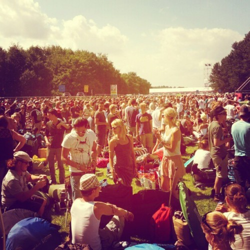 #Lowlands 2012 (Taken with Instagram at A campingflight to Lowlands Paradise 2012)