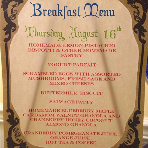 Good Breakfast & Good Morning! #brunch #baltimore #breakfast #bedandbreakfast #travel #cooking #vacation  (Taken with Instagram at Scarborough Fair Bed & Breakfast)
