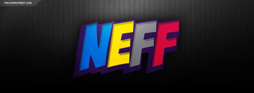 NEFF Colorful Logo Facebook Cover