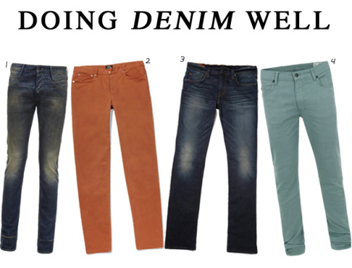 Styloko Blog: Doing Denim Well