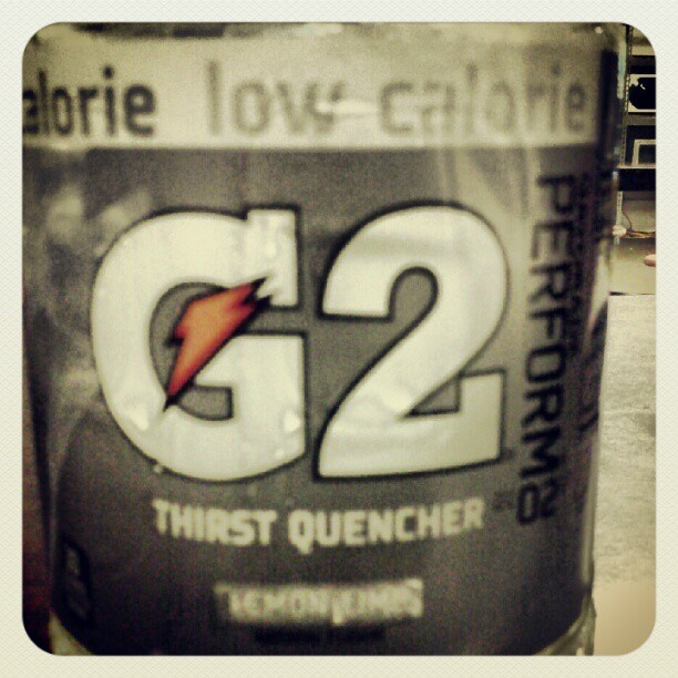 Not as bad as i thought it would be #gatoraid #g2 (Taken with Instagram)