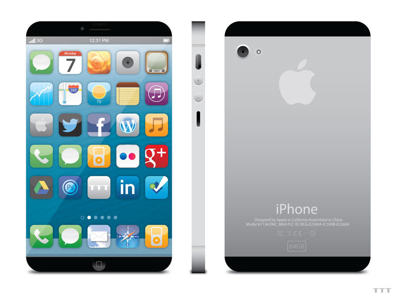 The new iPhone 5 inch, thinner, bigger, faster, better than ever