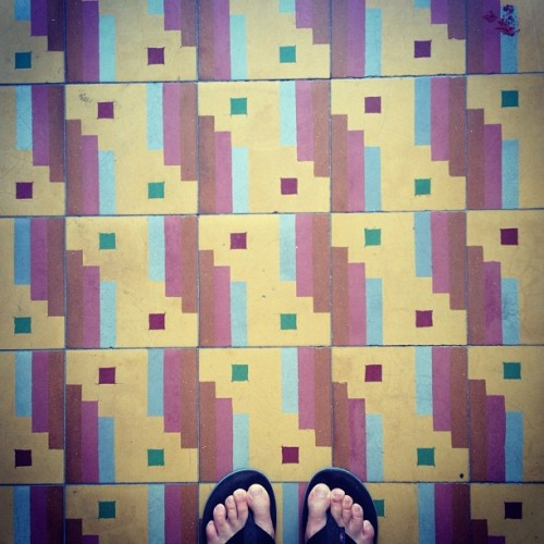 #floor #tiles #pattern #fromwhereistand  (Taken with Instagram)