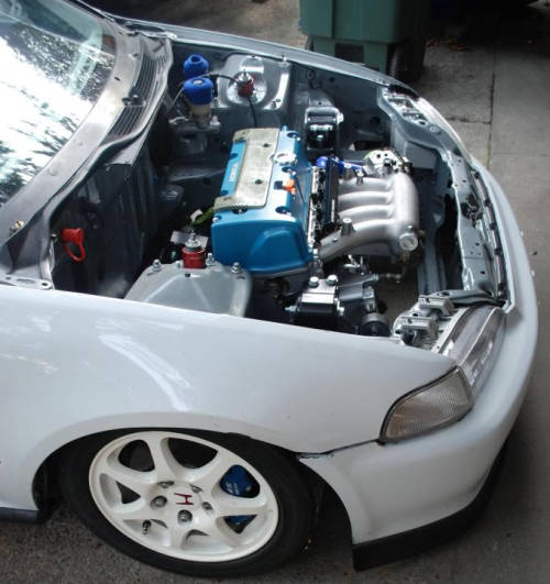 dualoverheadcams:  mckinnonimportllc:  Just needs a turbo setup   N/A all the way.