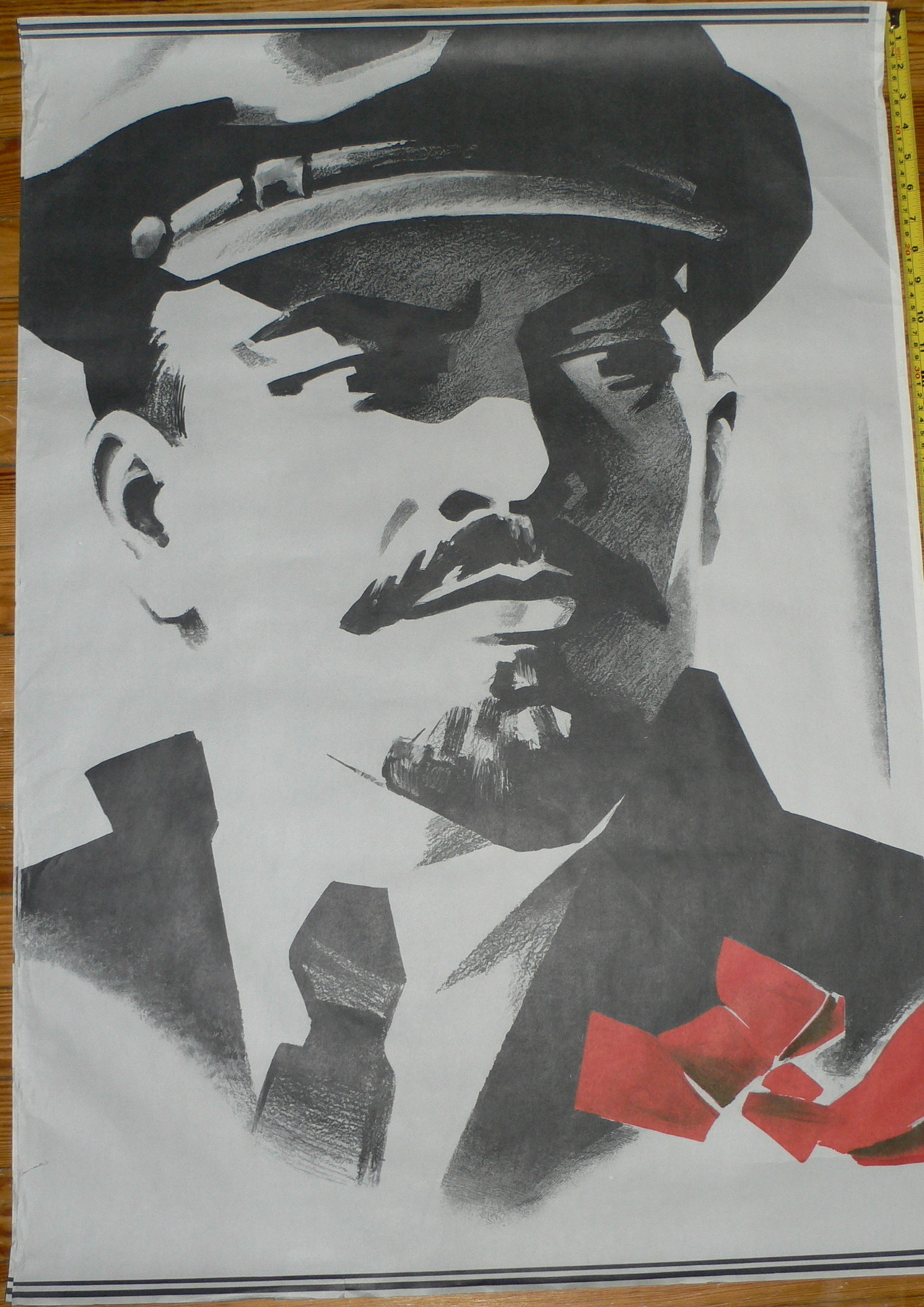 Some old school Soviet propaganda posters in one of my collections..enjoy! The last one is an anti-Stalin poster from the era of Perestroika