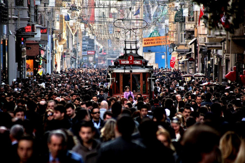 Istiklal Avenue, Istanbul Turkey – Tvoygid.com by tvoygid on Flickr.