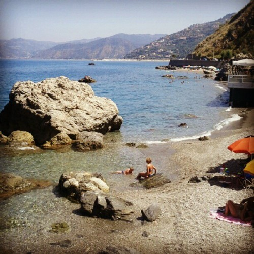 #capodorlando #sicily #sicilia #mare #sea (Taken with Instagram at Capo d'Orlando)