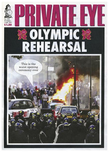 Private Eye, Cover, Issue 1295, August 2011