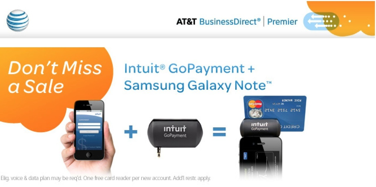 Seems AT&T is so used to Samsung copying Apple that they don't even try to tell the difference anymore.