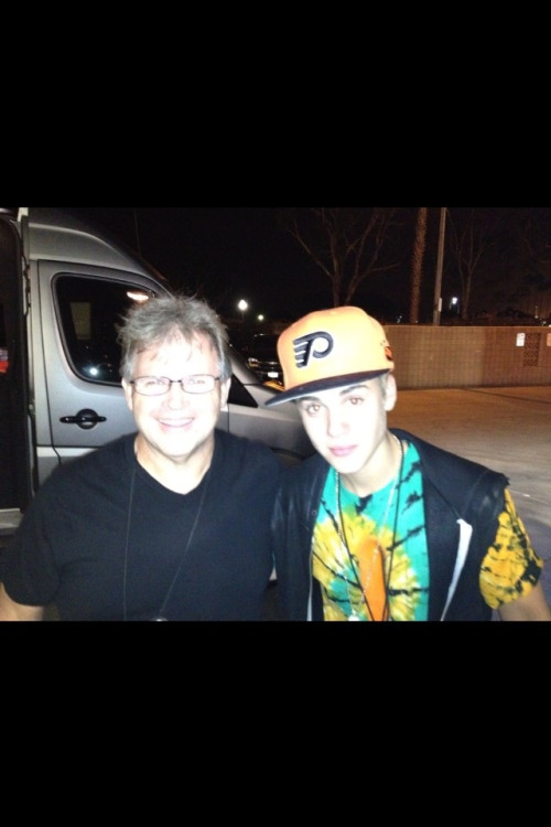 Justin with fan at Phish concert last night