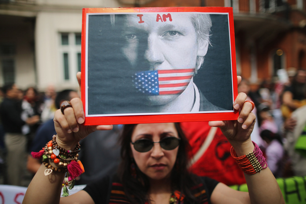 "Julian Assange granted asylum by Ecuador after U.K. threatens to storm embassy to make arrestWikiLeaks founder Julian Assange has been granted asylum, Ecuador's Foreign Minister Ricardo Patino said on Thursday, a day after the U.K. government threatened to storm the country's London embassy to arrest Assange.The U.K. says it remains determined to extradite Assange to Sweden, where he has been accused of rape and sexual assault. The charges came after the Australian computer hacker angered Washington and its allies in 2010 when Wikileaks published secret U.S. diplomatic cables.""Ecuador has decided to grant political asylum to Julian Assange following the request sent to the President,"" Patino told a news conference in Quito Thursday.(Photo: Dan Kitwood/Getty Images)"