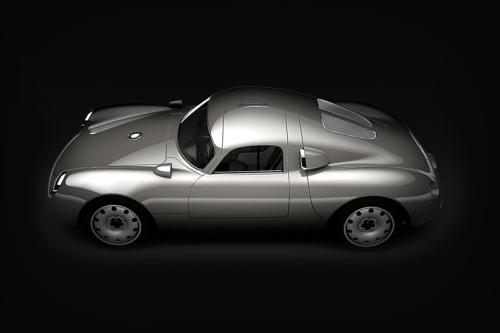 kentson:  Industry design (Porsche Vintech P550 Tribute)