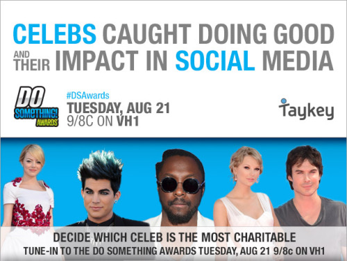 Celeb's Caught Doing Good In Social Media (Partnership with VH1 and the Do Something Awards)- Read more.