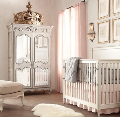 A modern day nursery for Queen Margaery and King Joffrey