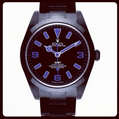 Its finally here! The Rolex I designed for @modaoperandi ! I love it! Hope you guys do too.. @bamfordwatchdepartment check it out online at modaoperandi.com x (Taken with Instagram)