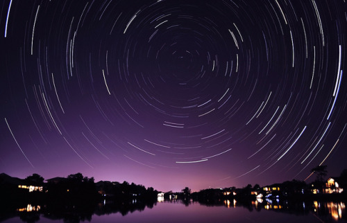 basementjax:  Startrails by Tristan# on Flickr.