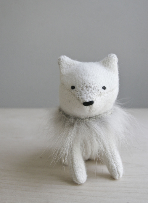 arctic fox a gentle arctic fox, he's soft spoken and calm as the frozen seas. he prefers the simpler things in life… like a warm blanket and a hot rabbit stew. - august 2012 -