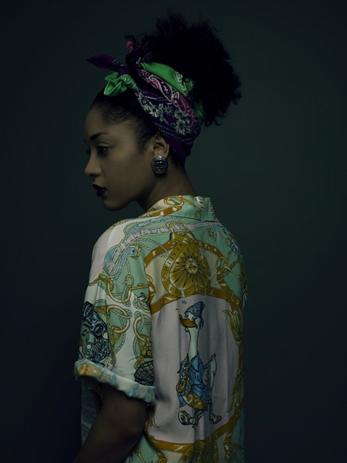 blackfashion:  Nargis by Paul Cocks & Kate Desmarais