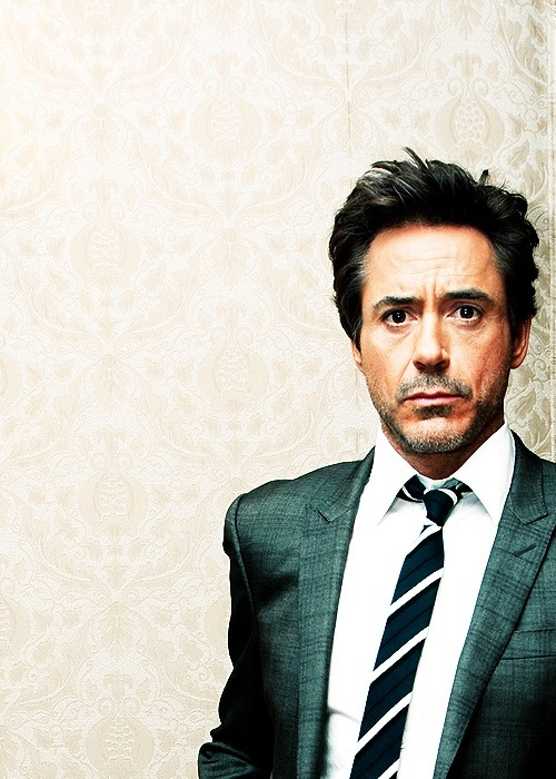 robert downey jnr! looks better every day that he ages :)