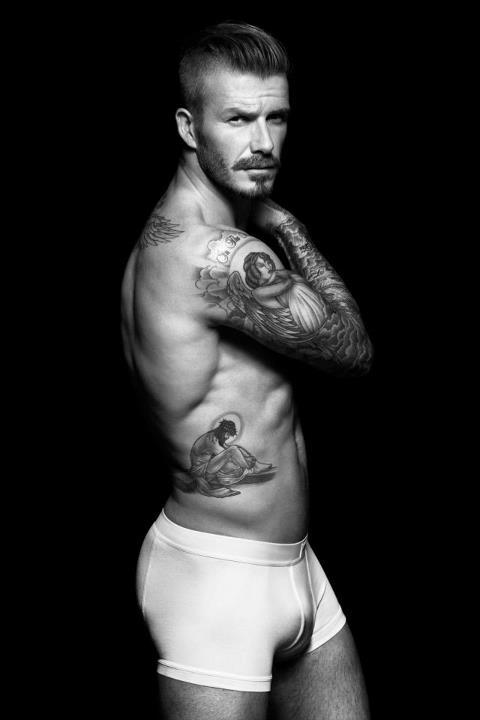 imwithkanye:  David Beckham unveiled the new print ads for H&M.   here for this