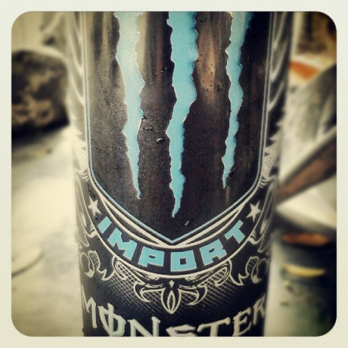 Yeayuhhhhhhhh #monster #import #energy (Taken with Instagram)