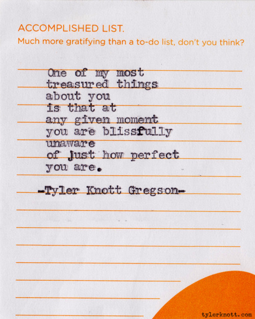Typewriter Series #143 by Tyler Knott Gregson