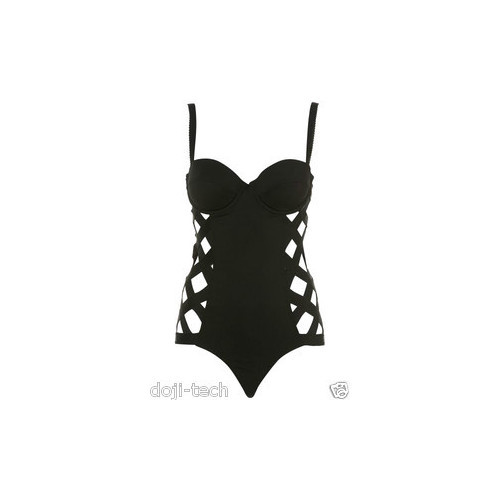 Topshop top   ❤ liked on Polyvore (see more corset tops)