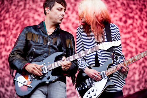The Kills, my new favorite band from Outside Lands 2012.