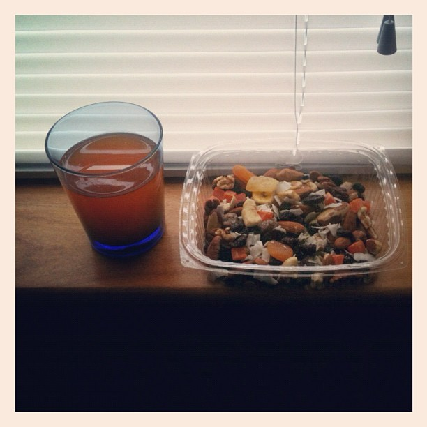 Breakfast for the Insomniac #birdseed  (Taken with Instagram)