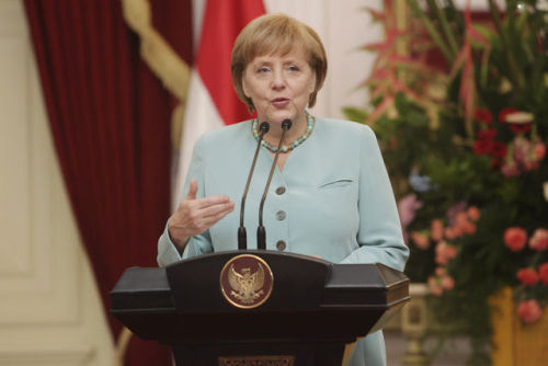 German Chancellor Angela Merkel renewed her call for austerity as crucial to tackling financial turmoil in the euro area, praising Canada's economic example as she returned to the crisis fight after her summer vacation. (via Merkel Cites Canada as Debt-Deficit Model in Europe's Crisis - Businessweek) - - - - - - - - - - - - - Austerity will likely continue and could further worsen an already fragile investor climate as austerity-wrecked periphery countries remain in the throes of a debt trap.