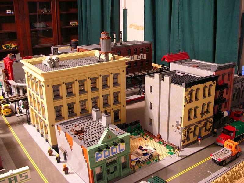 Johnathan Lopes, a Brooklyn native, built a LEGO replica of Brooklyn, complete with the Fairway in Red Hook, the historic Williamsburg Savings Bank, and the rickety A train. It's amazing. Check out the story and gallery. I can't believe he'll be eventually disassembling it!