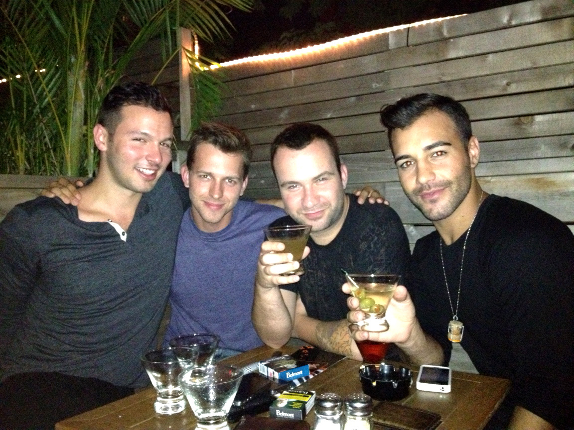 Had a night out with my boys last night. 4$ martinis are DANGEROUS!