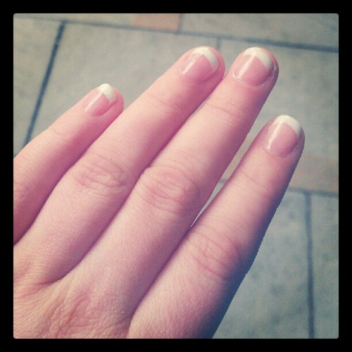 Gorgeous new nails!  (Taken with Instagram)