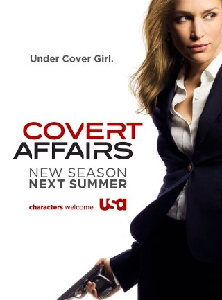 I am watching Covert Affairs                                                  40 others are also watching                       Covert Affairs on GetGlue.com