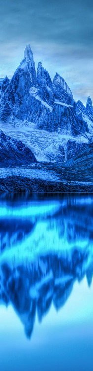 blue breathtaking mirror