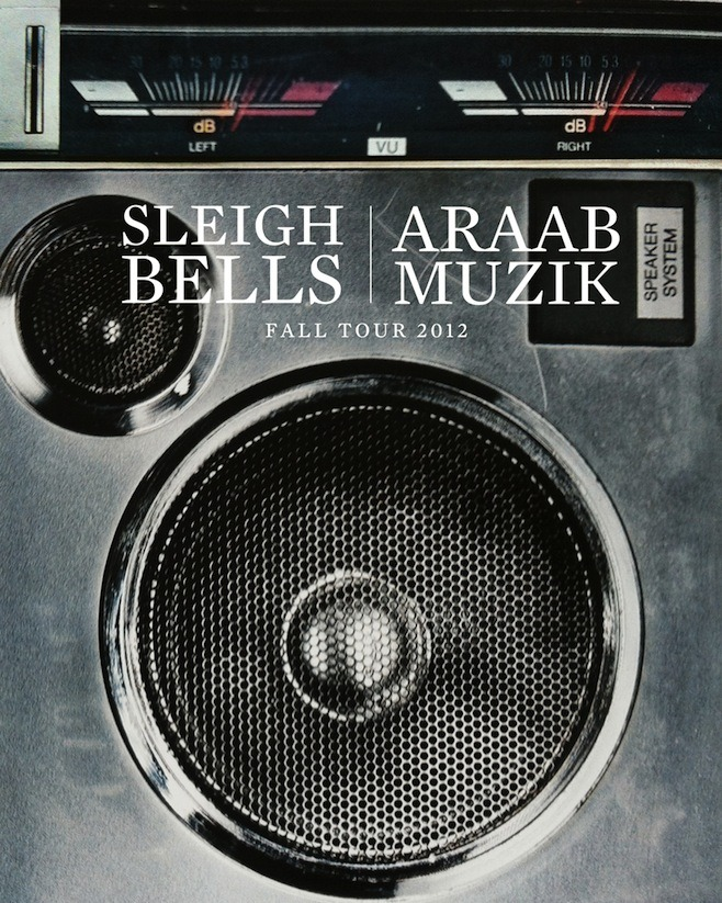 Sleigh Bells announce tour with AraabMuzik!!