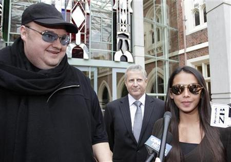 "NZ court rules FBI must show Megaupload founder evidenceU.S. federal authorities wanting to extradite Kim Dotcom, the founder of the Megaupload online file-sharing site, must show evidence to back up charges of internet piracy and copyright breaches, a New Zealand court ruled on Thursday.The Federal Bureau of Investigation (FBI) accuses the flamboyant Dotcom of leading a group that netted $175 million since 2005 by copying and distributing music, movies and other copyrighted content without authorization.New Zealand authorities arrested Dotcom, a 38-year-old German national, when they raided his rented country estate near Auckland at the FBI's request in late January, confiscating computers and hard drives, art work and cars.The raid and evidence seizure has already been ruled illegal and the latest decision confirms that Dotcom should be allowed to see the evidence on which the extradition hearing will be based.""Without access to materials relevant to the extradition hearing phase, the person sought will be significantly constrained in his or her ability to participate in the hearing,"" Justice Helen Winkelmann said in a written judgment.Photo Credit: (Simon Watts/Reuters)"