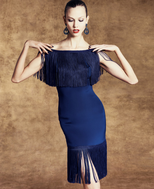 Navy: The New Neutral, Marchesa Notte sheath.