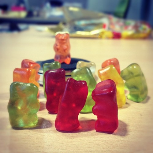 #mitin #rally #gummybears #haribo (Taken with Instagram at FunBox Headquarters)