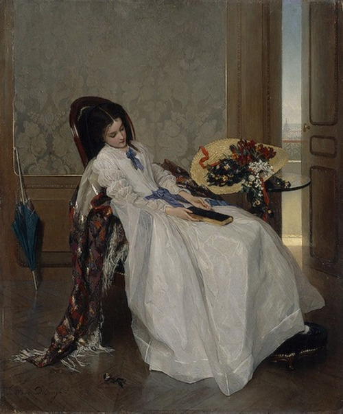 colourthysoul:  Gustav-Leonard de Jonghe - After a walk
