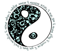 upliftedvibrations:  .:Yin and yang are opposite in nature, but they are part of nature, they rely on each other, and they can't exist without each other:.