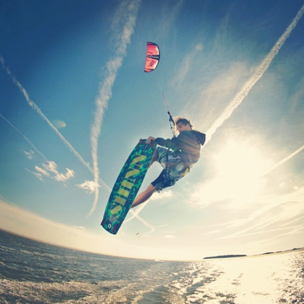 #kiteboarding will be one of the new #rio2016 #olympics #sports  (Taken with Instagram)