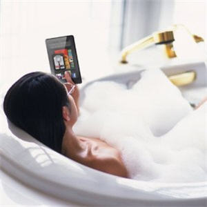 Tech in the Tub. Some tips for taking your e-reader in the bath.