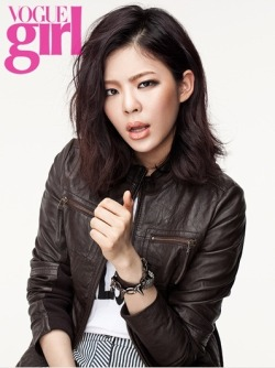 Jang Jae In for Vogue Girl