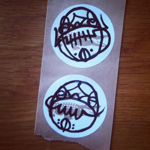 airrat:  Gator gang #sticker #lacoste (Taken with Instagram)