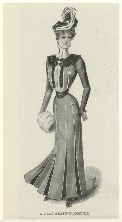 lostsplendor:  Curious Costume, 1898-1900 via The New York Public Library