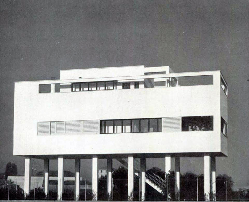 subtilitas:  Luigi Figini - House in Milan, 1935. Via.