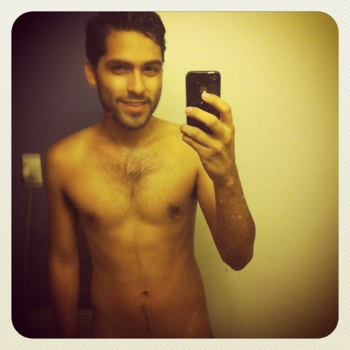 So my chest hair is starting to get a little fuller :P (Taken with Instagram)