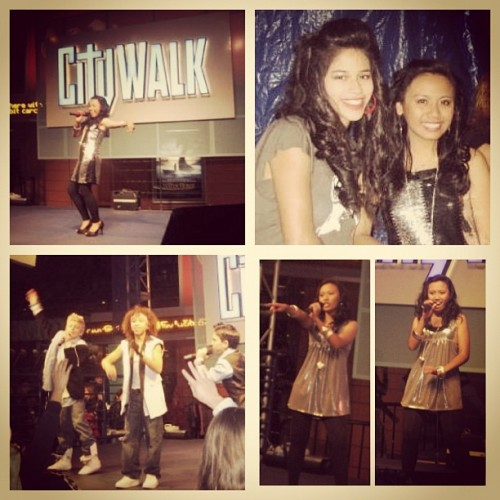 Throwback Thursday. Hollywood Launch Showcase at Universal Citywalk. So many incredible memories performing on that stage. Thanks to Karla, Veda, and @tiffanyburtonrojas for giving me this opportunity and mentoring me. Catch Stephanie Hoston in Spring Awakening at CSUN! And yes, that's @rossr5 from Austin and Ally. He was just a little boy back then. #hollywoodlaunch (Taken with Instagram)